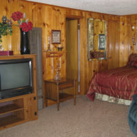 Belle Starr One Room Kitchen Lodging for 4 Red River NM at Mountain Shadows Lodge