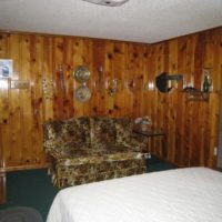Billy The Kid Two room two bath and kitchen lodging for 6 Red River NM at Mountain Shadows Lodge